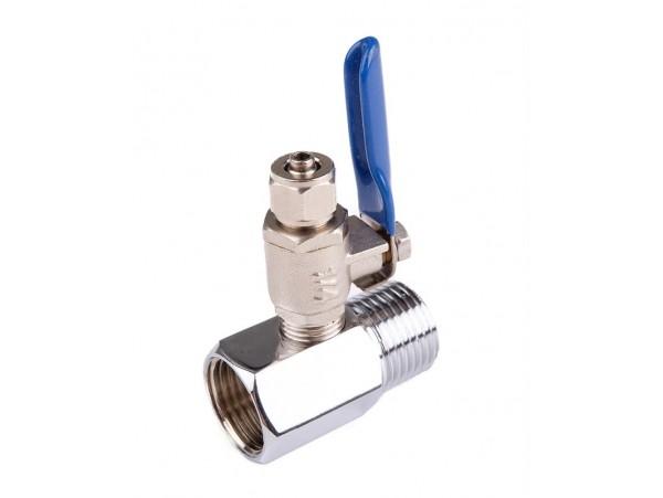 Тройник для подключения фильтр-систем к водопроводу