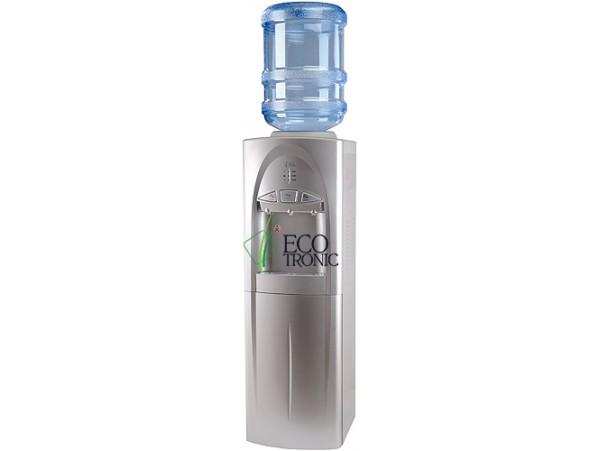 Кулер для воды напольный с компрессорным охлаждением Ecotronic C4-LC silver