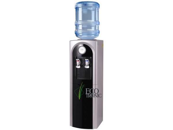 Кулер для воды напольный с электронным охлаждением Ecotronic C21-LСE black