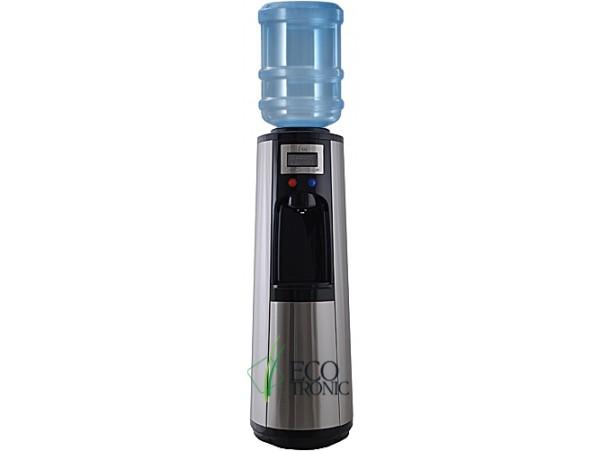 Кулер для воды напольный с компрессорным охлаждением Ecotronic P3-LPM black/silver