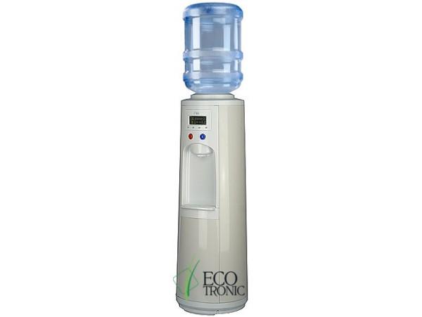 Кулер для воды напольный с компрессорным охлаждением Ecotronic P3-LPM white