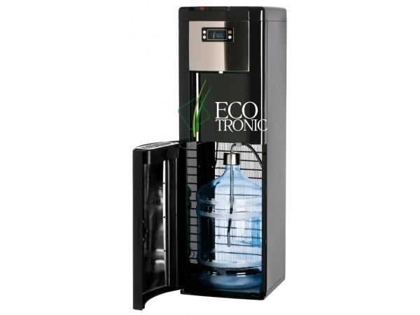 Кулер для воды напольный с нижней загрузкой Ecotronic P9-LX Black