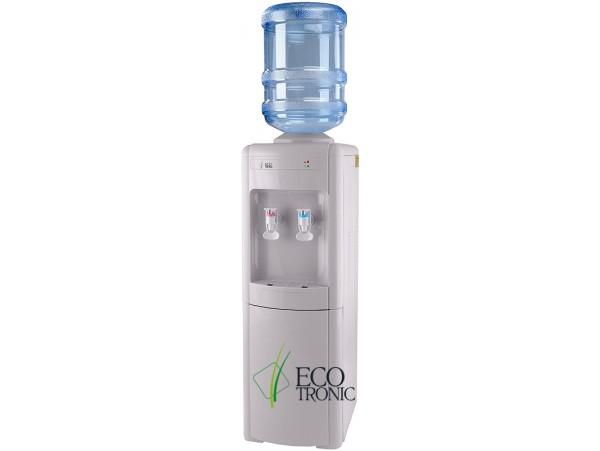 Кулер для воды напольный с компрессорным охлаждением Ecotronic H2-L