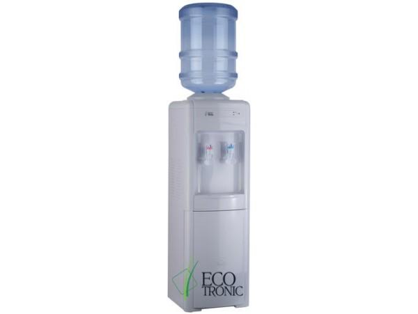 Кулер для воды напольный с холодильником Ecotronic H2-LF